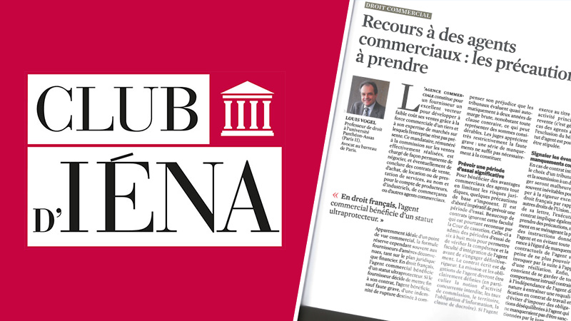 agents commerciaux - Presse et publication - Club IENA