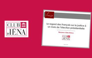 la justice et les français - Club d'Iéna