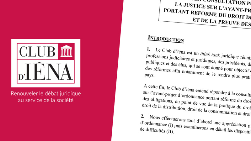 Club D'Iéna - Presse & publications