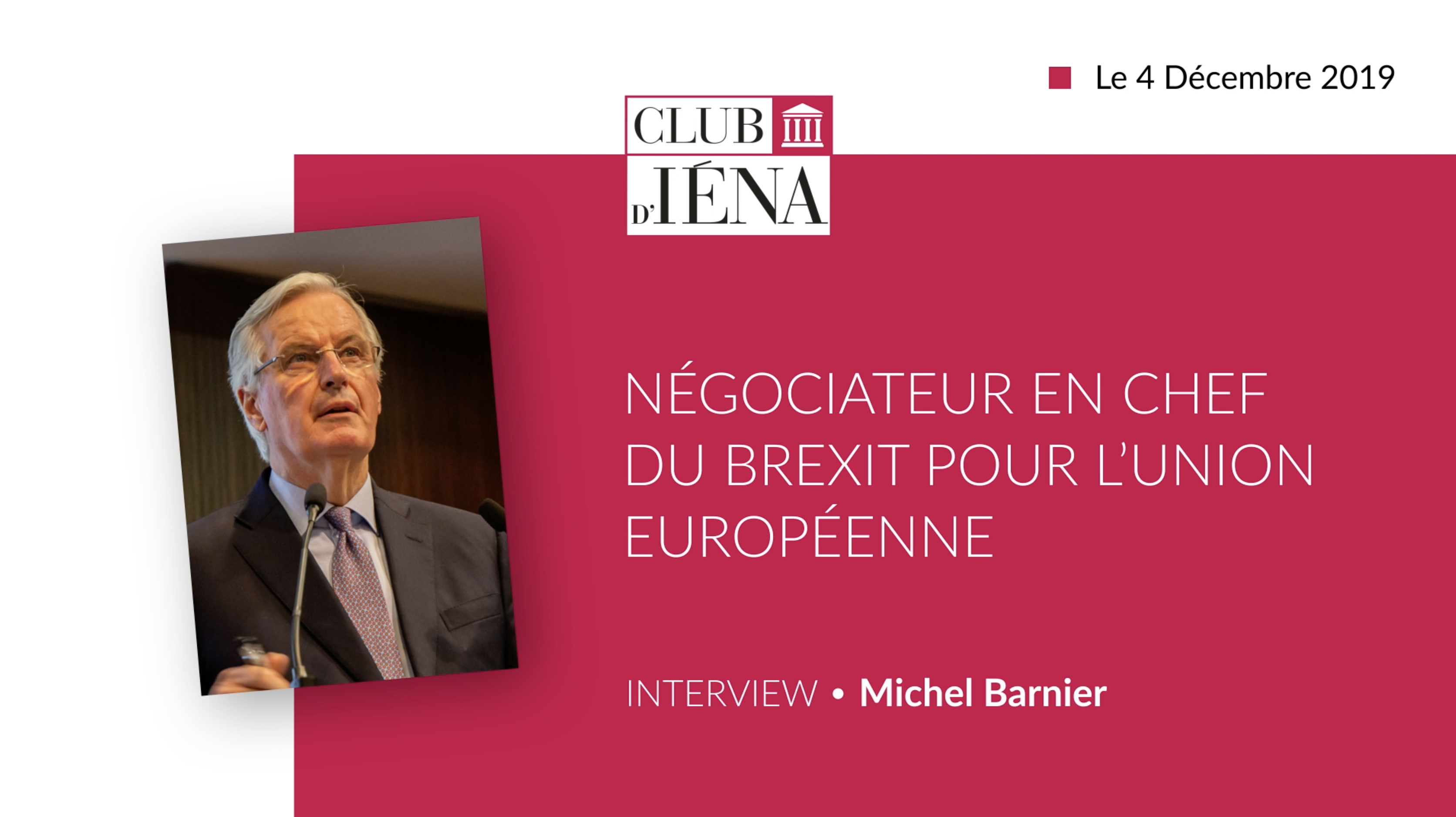 Interview Michel Barnier